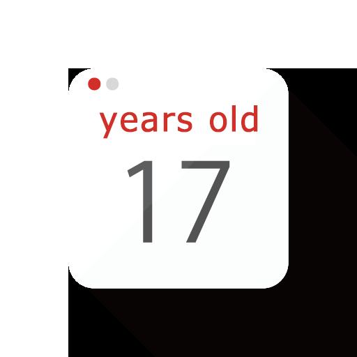 年齢の表示が可能